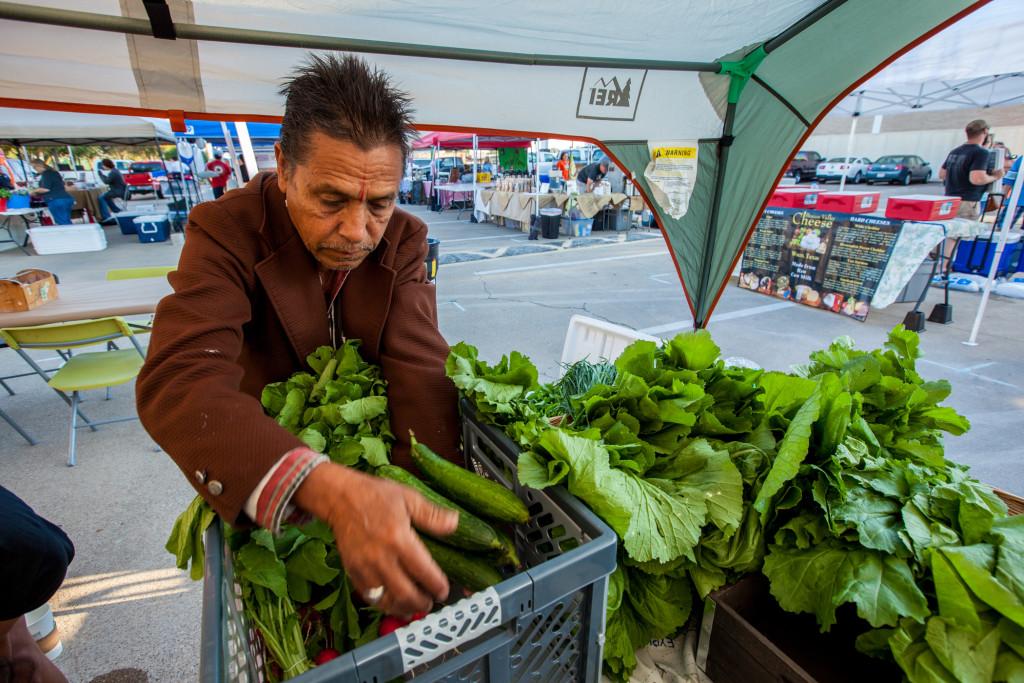 Vickery Meadow Farmers Market in Dallas draws shoppers