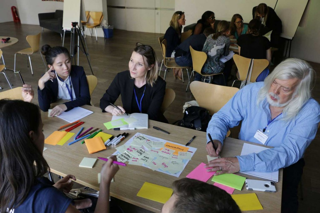 Workshop participants explore solutions to under -esourced communities